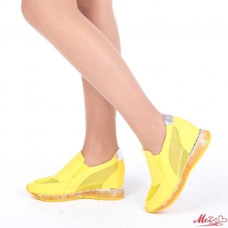 Pantofi Sport Dama HFD25 Yellow Mei