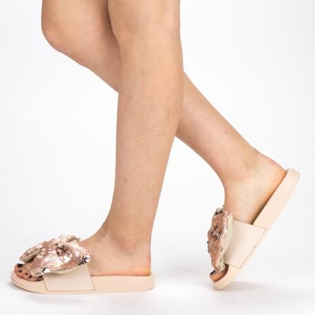 Papuci Dama WS120 Beige Mei