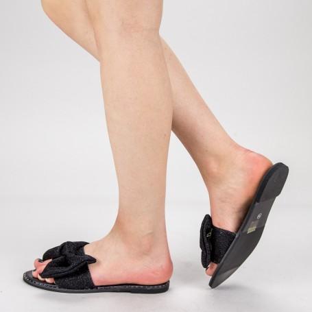 Papuci Dama TG6 Black Mei