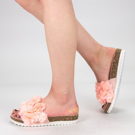 Papuci Dama WS129 Pink Mei