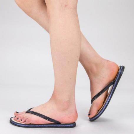 Papuci Dama WS126 Black Mei
