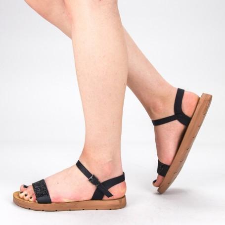 Sandale Dama WS105 Black Mei