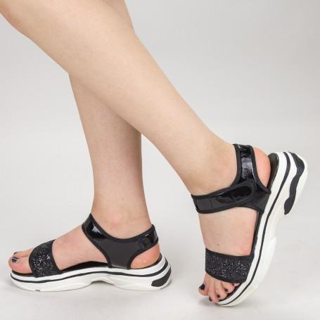 Sandale Dama XN2 Black Mei