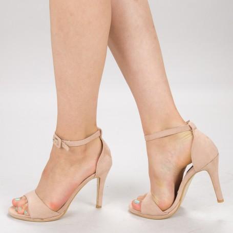 Sandale Dama cu Toc XD250Y Pink Mei