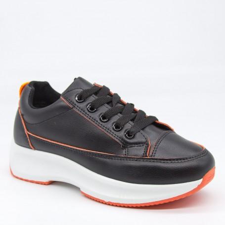 Pantofi Sport Dama XC8 Black-orange Mei