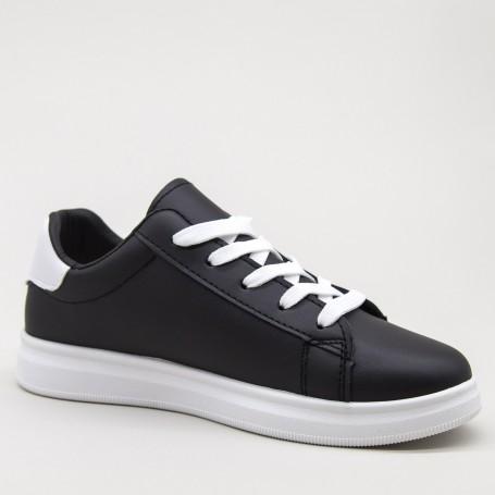 Pantofi Sport Dama WS173 Black-white Mei