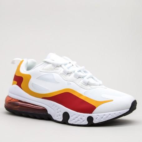 Pantofi Sport Barbati 0550 White-red Mei