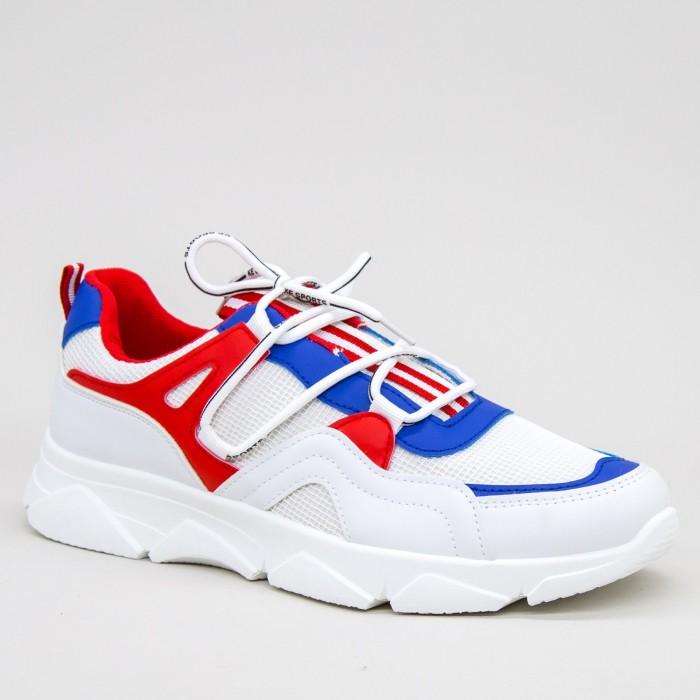 Pantofi Sport Barbati AN80 White Mei