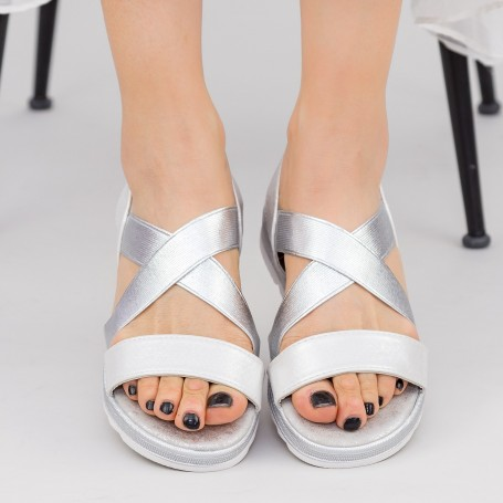 Sandale Dama WS185 Silver Mei