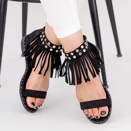 Sandale Dama LE202 Black Mei
