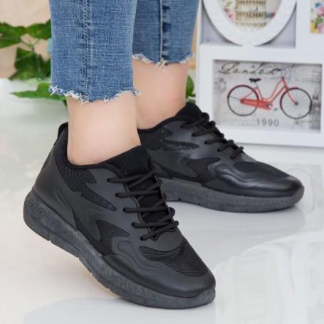 Pantofi Sport Dama WNH1 All Black Mei