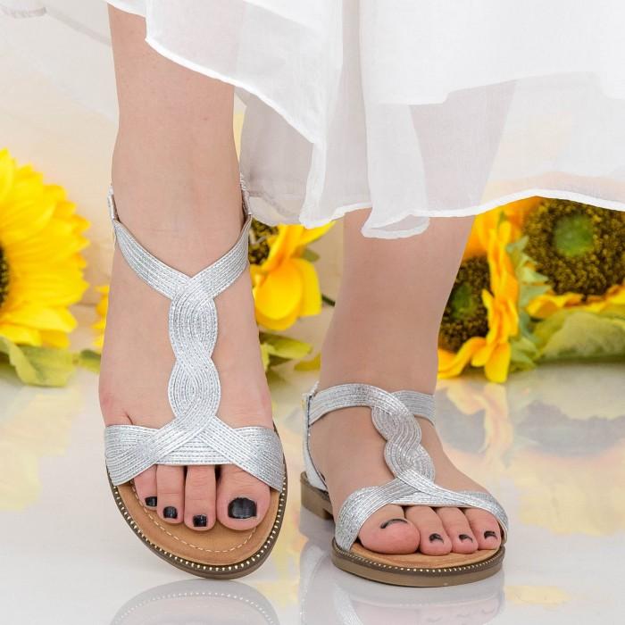 Sandale Dama CZLS3 Silver Mei