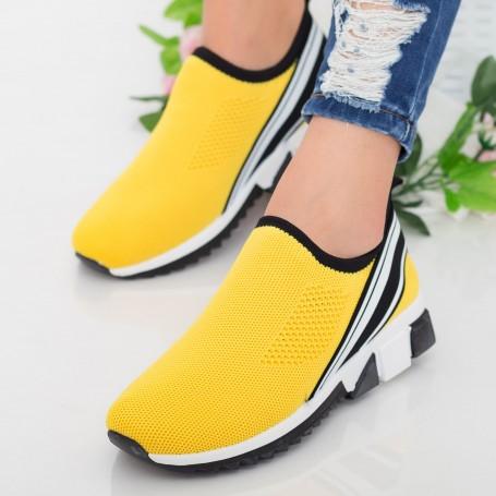 Pantofi Sport Dama TF6 Yellow Mei