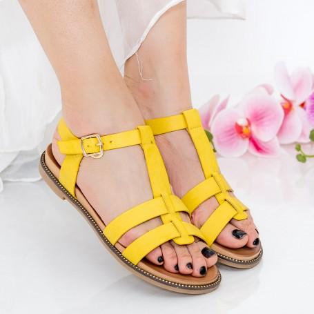 Sandale Dama ZX3 Yellow Mei