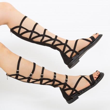 Sandale Dama QZL255 Black Mei