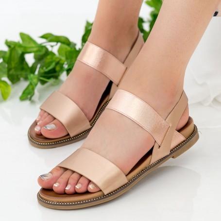 Sandale Dama ZX6 Champagne Mei