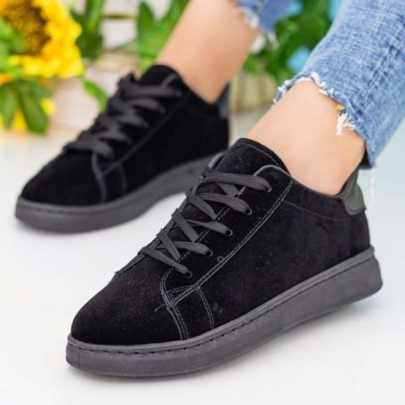 Pantofi Sport Dama WS172 All Black Mei