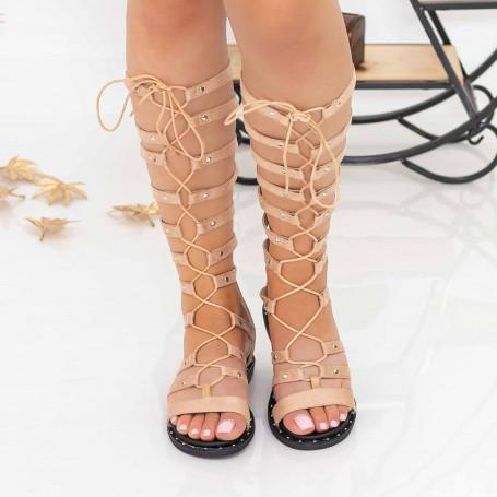 Sandale Dama QZL238 Beige Mei