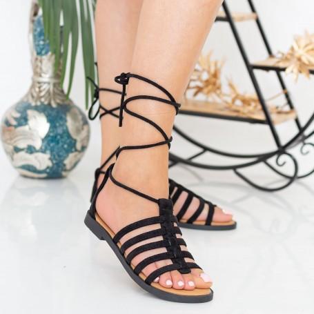 Sandale Dama CZLS2 Black Mei