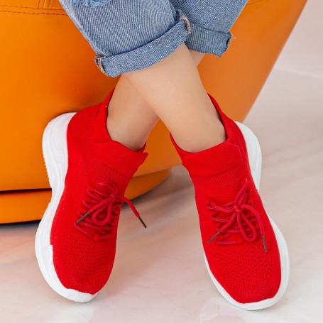 Pantofi Sport Dama WS166 Red Mei