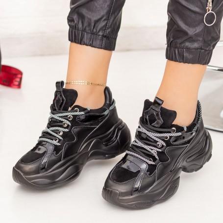 Pantofi Sport Dama SZ261 Negru Mei
