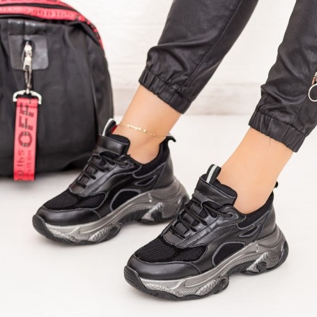 Pantofi Sport Dama SZ267 Negru Mei