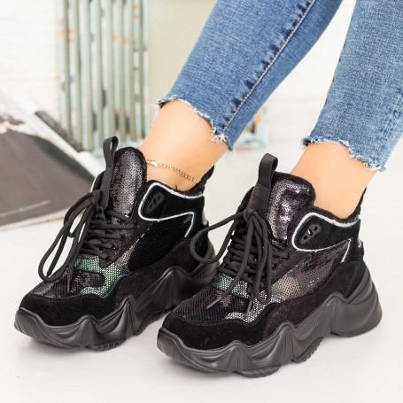 Pantofi Sport Dama SZ272 Negru Mei