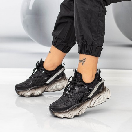 Pantofi Sport Dama SZ312 Negru Mei