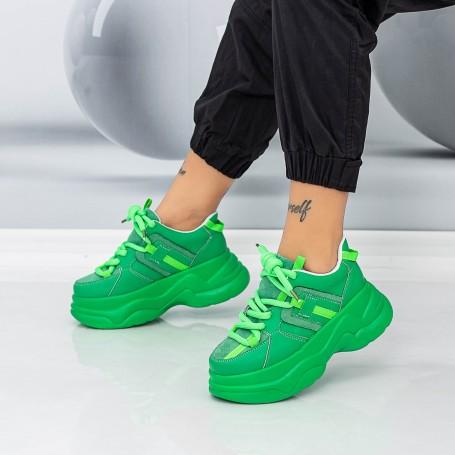 Pantofi Sport Dama WLLXE1 Verde Mei