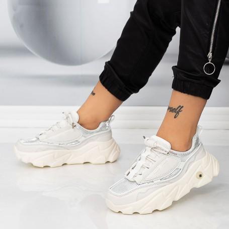 Pantofi Sport Dama 7801-8 Bej Mei