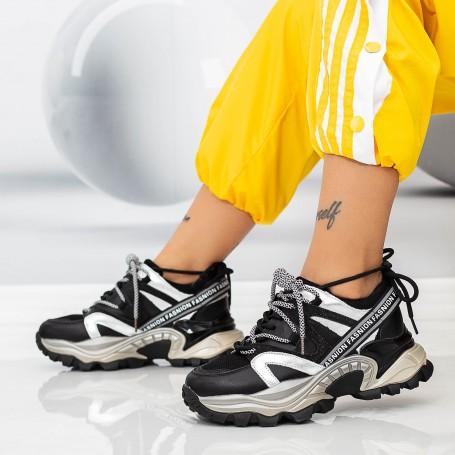 Pantofi Sport Dama SZ337 Negru Mei