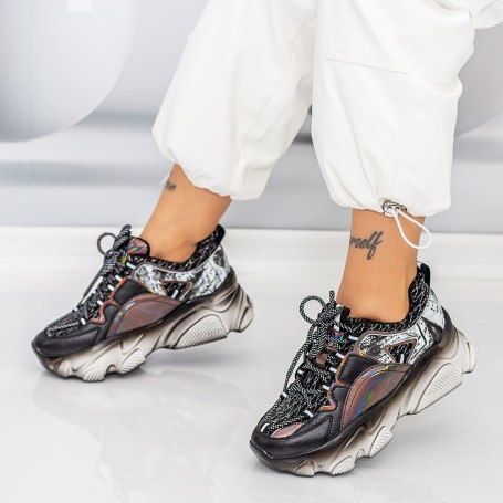 Pantofi Sport Dama SZ301 Negru Mei