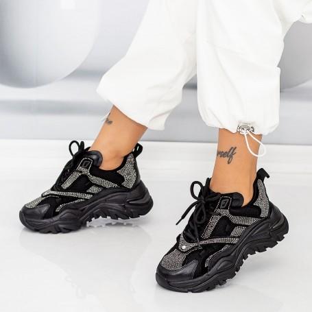 Pantofi Sport Dama SZ320 Negru Mei