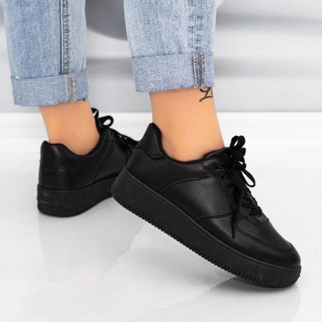 Pantofi Sport Dama AN87 Negru Mei