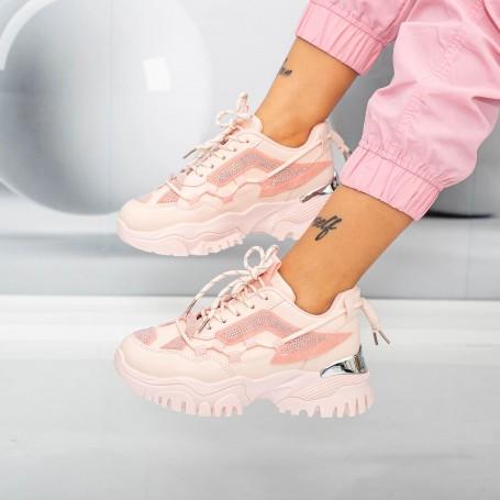 Pantofi Sport Dama HMM31 Roz Mei