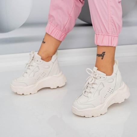 Pantofi Sport Dama SJN373 Bej Mei