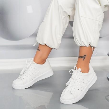 Pantofi Sport Dama YKQ230 Alb Mei