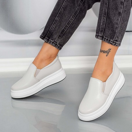 Pantofi Sport Dama HMM38 Gri Mei