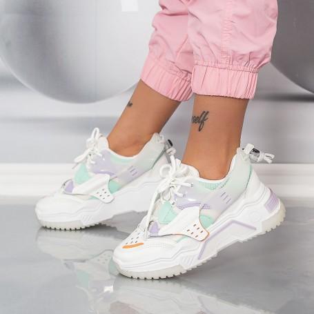 Pantofi Sport Dama HMM36 Verde Mei