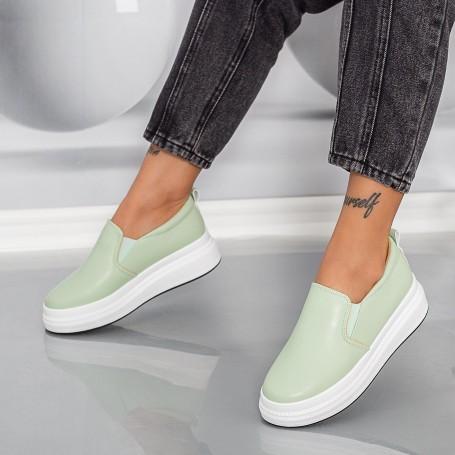 Pantofi Sport Dama HMM38 Turcoaz Mei