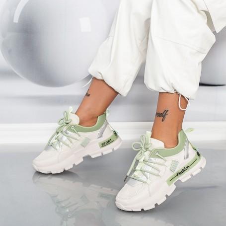 Pantofi Sport Dama LGGH11 Verde Mei