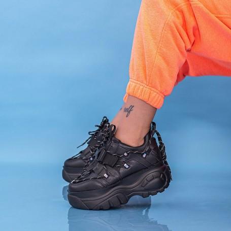 Pantofi Sport Dama WLLXE2 Negru Mei