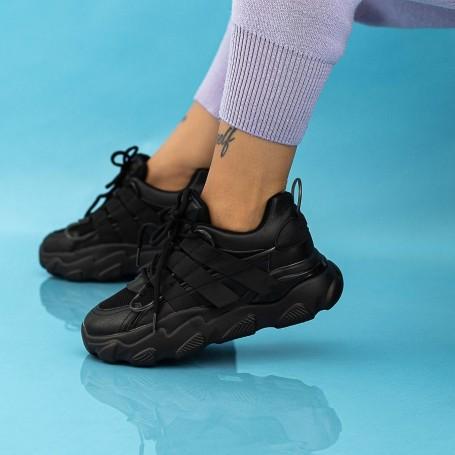Pantofi Sport Dama WLLL10 Negru Mei