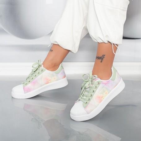 Pantofi Sport Dama YKQ231 Verde Mei