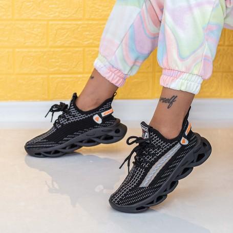 Pantofi Sport Dama LGKN1 Negru Mei