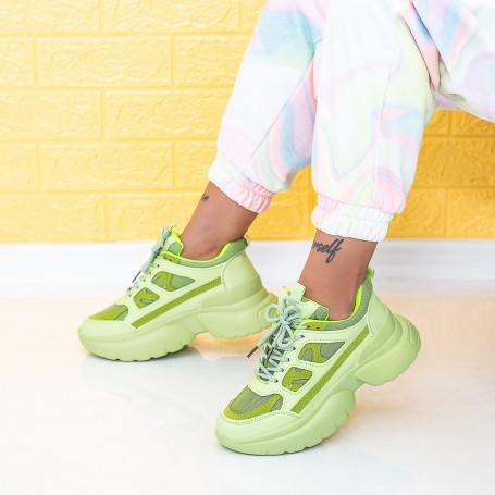 Pantofi Sport Dama LGYED9 Verde Mei