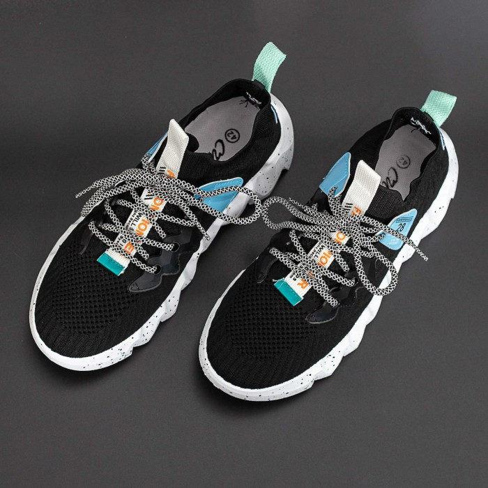 Pantofi Sport Barbati LGMB3 Negru-Alb Mei