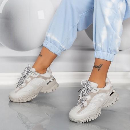 Pantofi Sport Dama LGYED8 Gri Mei