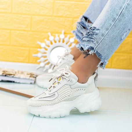 Pantofi Sport Dama SZ300 Bej Mei