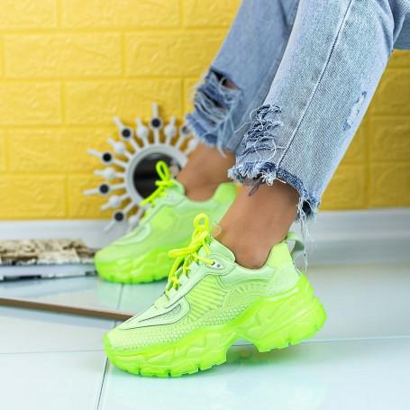 Pantofi Sport Dama SZ300 Verde Mei